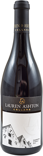 View the 2011 Reserve Syrah Wine Bottle Photo