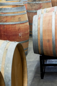 Winemaking Team - Oak Barrels