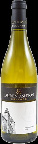 View the 2012 Roussanne Wine Bottle Photo
