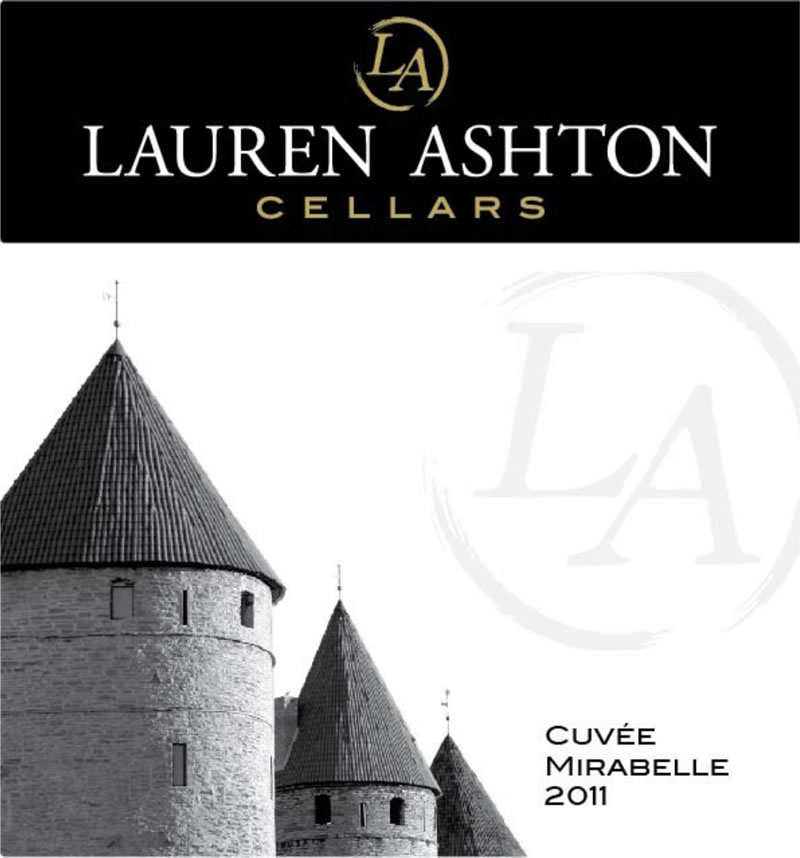 View the 2011 Cuvée Mirabelle Wine Label Art