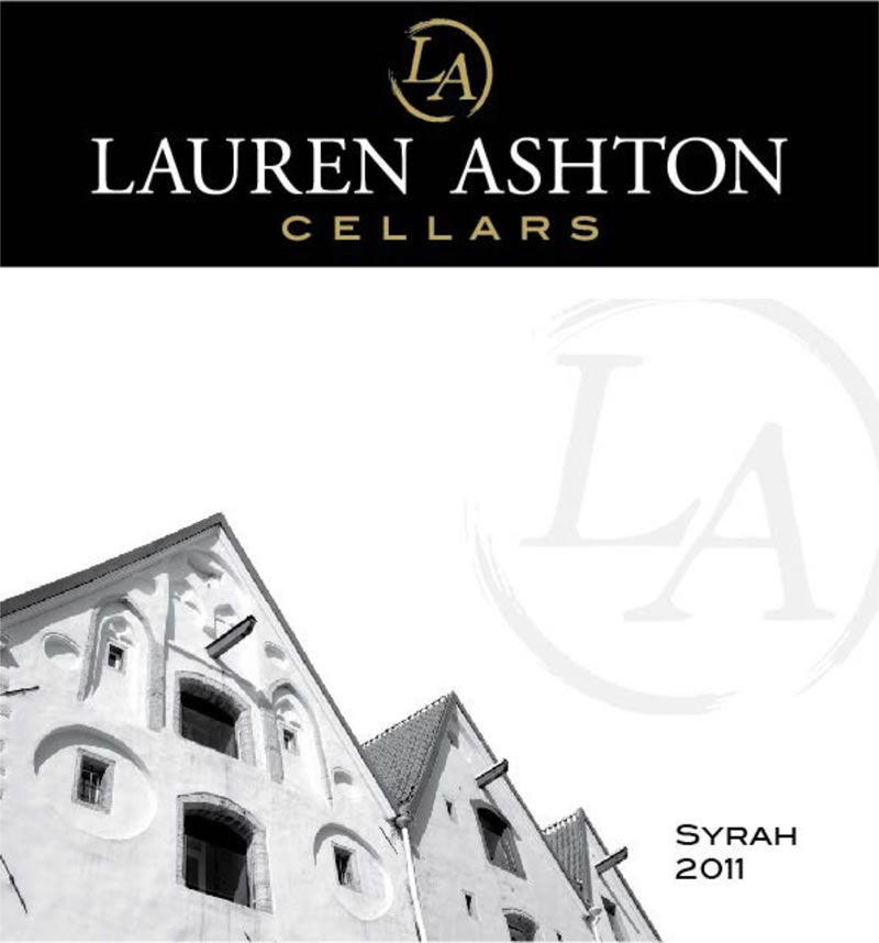 View the 2011 Syrah Wine Label Art