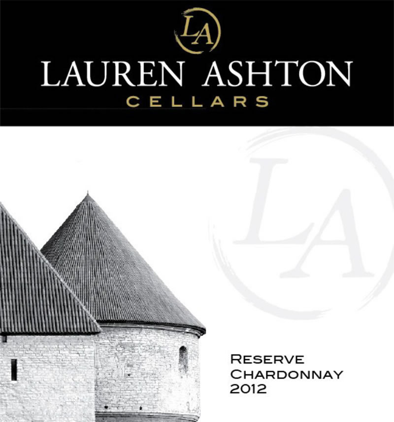View the 2012 Reserve Chardonnay Wine Label Art