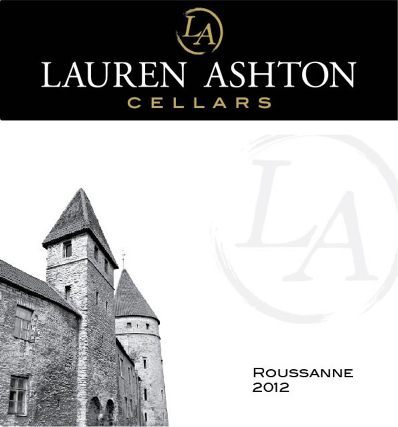 View the 2012 Roussanne Wine Label Art