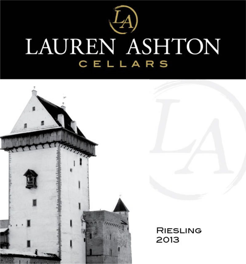 View the 2013 Riesling Wine Label Art