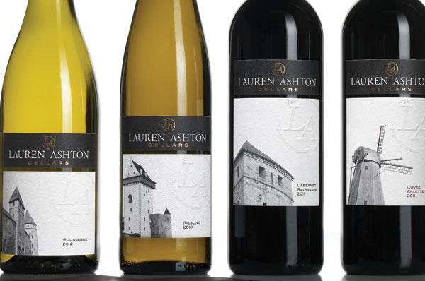 Lauren Ashton Cellars Coolest Wine Label