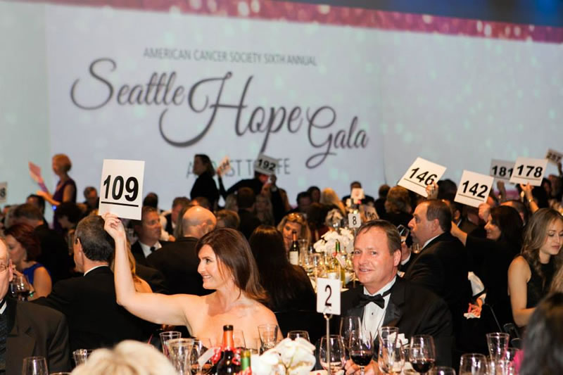 Seattle Hope Gala 2014 The Auction