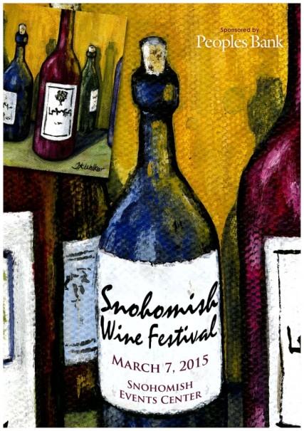 Snohomish Wine Festival Logo