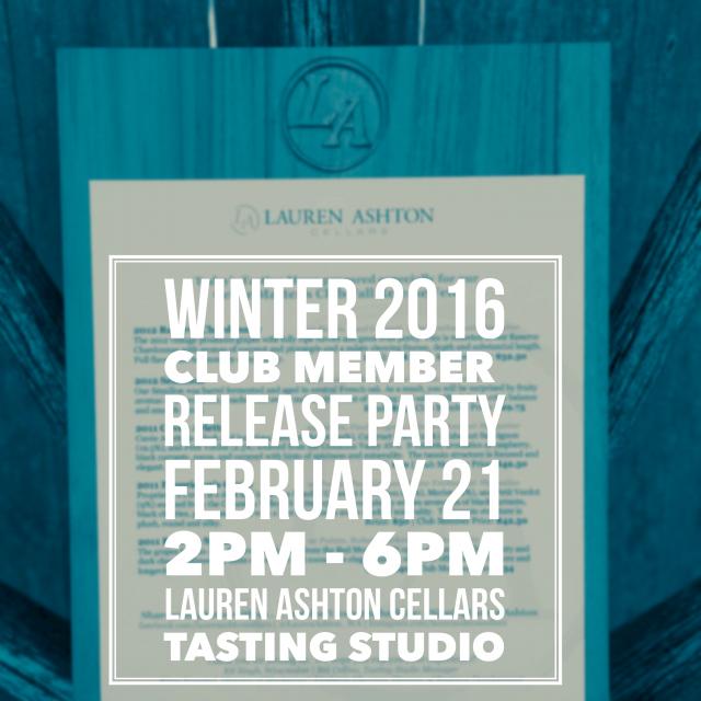 Club Member Release Winter 2016